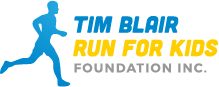 Tim Blair Run for Kids Foundation Logo